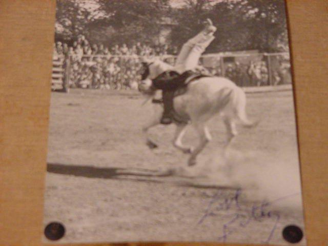 Jack Case archive: Betty Case trick rider