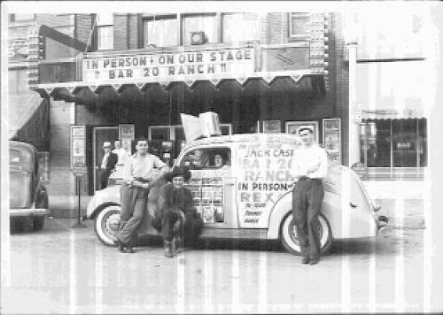 Jack Case archive: the Bar20 tour car