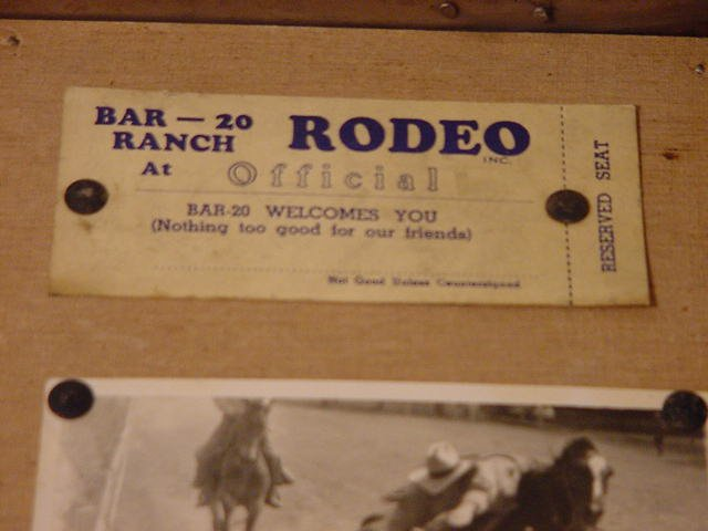 Jack Case archive: ticket to Bar20