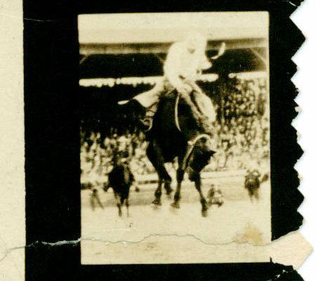 Jack Case archive: Cheyenne rodeo image