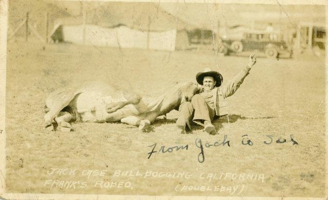 Jack Case archive: Franks rodeo image