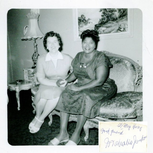 Jack Case archive: Helen and Mahalia Jackson in chicago